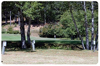 Cedar Bend Golf Course RV Parking